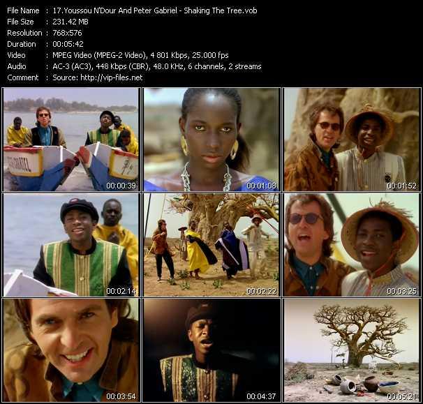 Youssou N'Dour And Peter Gabriel video screenshot
