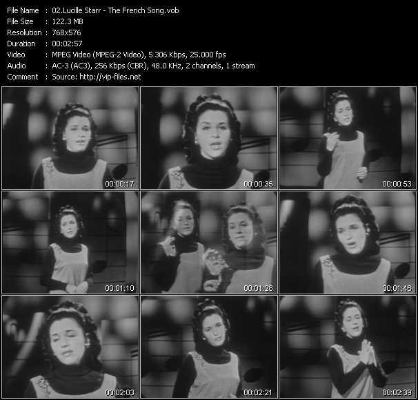 Lucille Starr video screenshot
