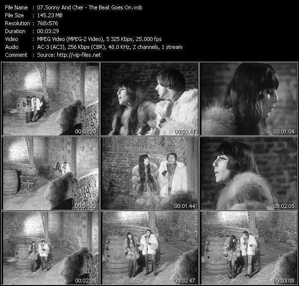 Sonny And Cher video screenshot