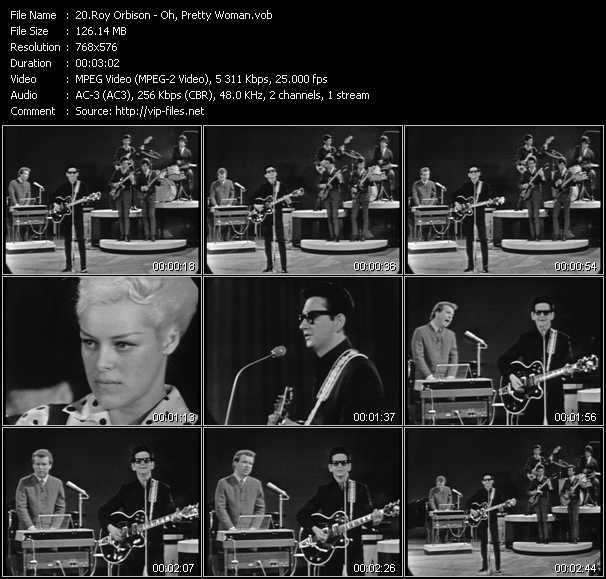 Roy Orbison video screenshot