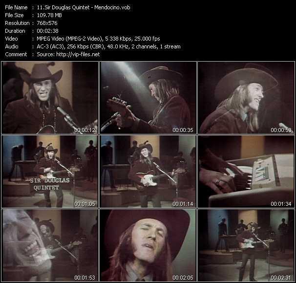 Sir Douglas Quintet video screenshot