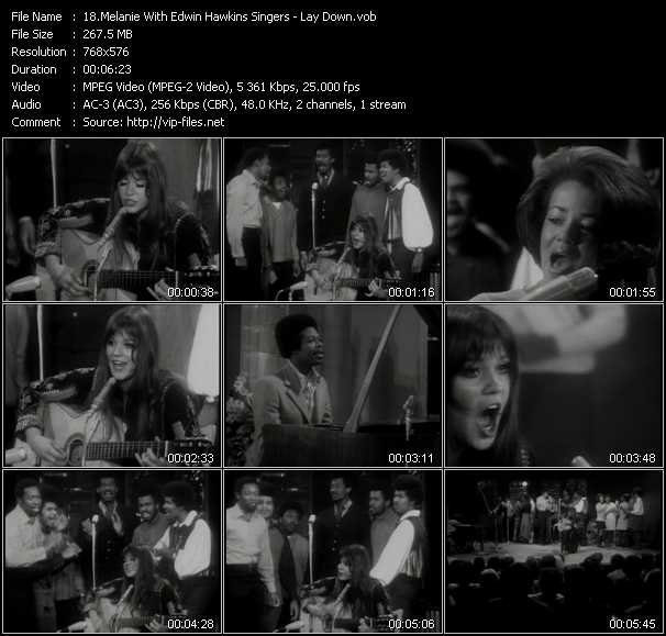 Melanie With Edwin Hawkins Singers video screenshot