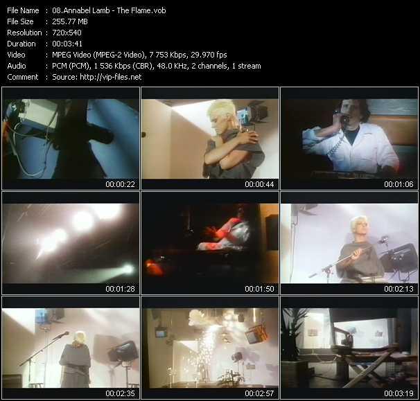 Annabel Lamb video screenshot