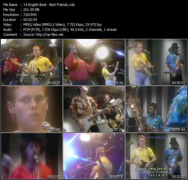 English Beat (Beat) video screenshot