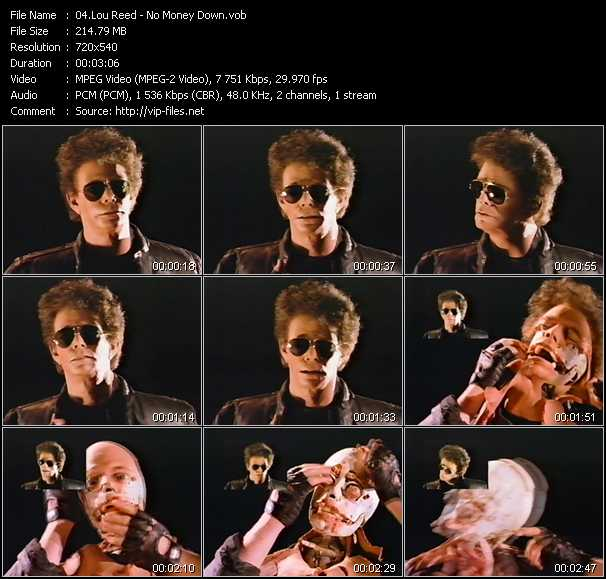 Lou Reed video screenshot