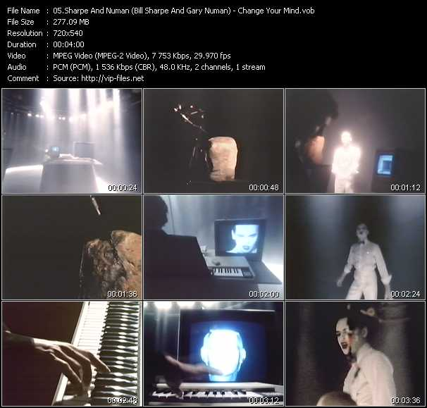 Sharpe And Numan (Bill Sharpe And Gary Numan) video screenshot