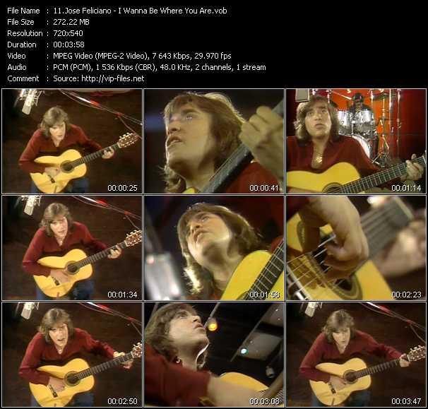 Jose Feliciano video screenshot