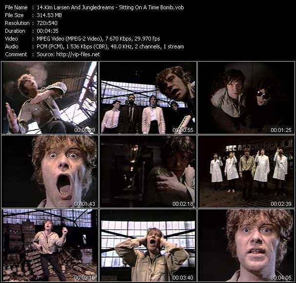Kim Larsen And Jungledreams video screenshot