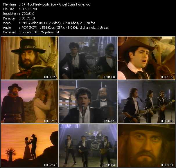 Mick Fleetwood's Zoo video screenshot