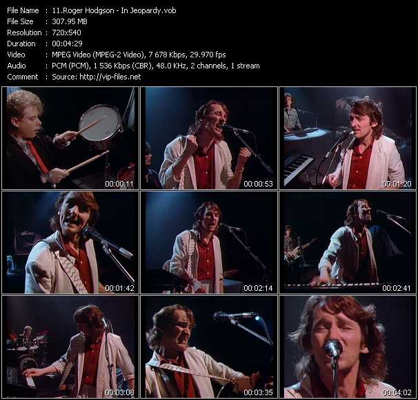 Roger Hodgson video screenshot