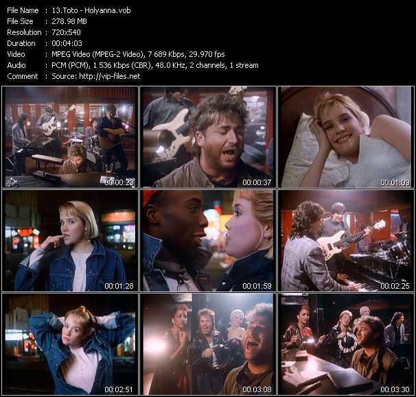 Toto video screenshot