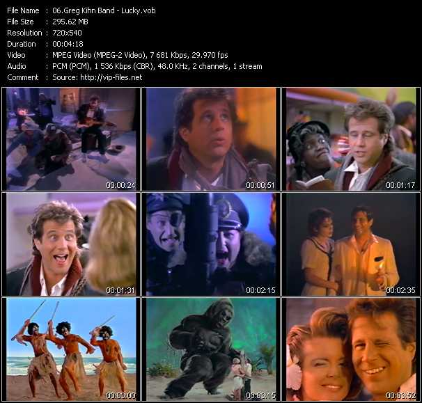 Greg Kihn Band video screenshot