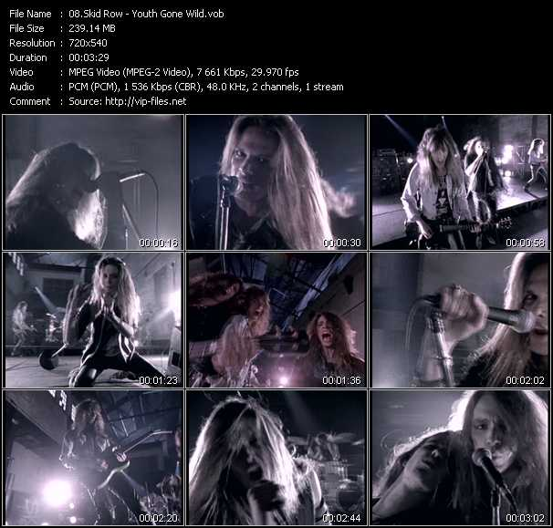 Skid Row video screenshot