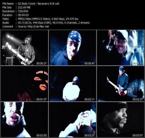 Body Count video screenshot