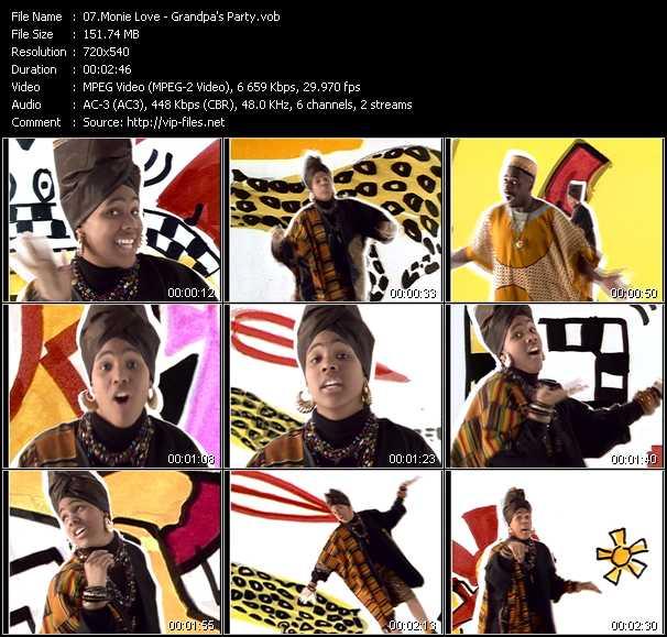Monie Love video screenshot