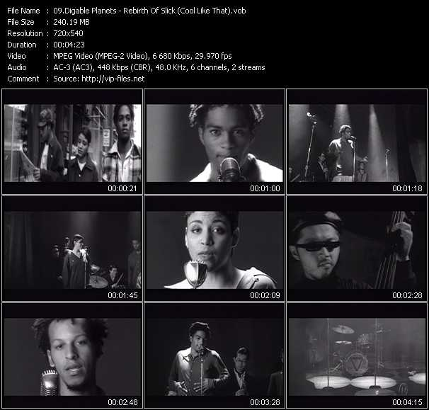 Digable Planets video screenshot