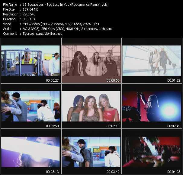 video Too Lost In You (Rockamerica Remix) screen