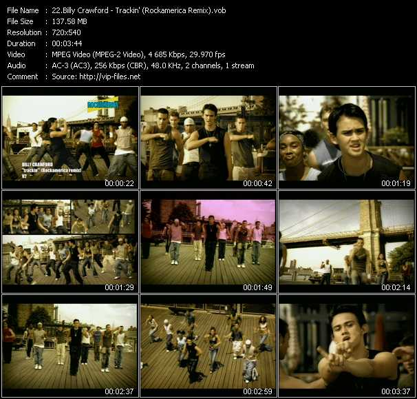 Billy Crawford video screenshot