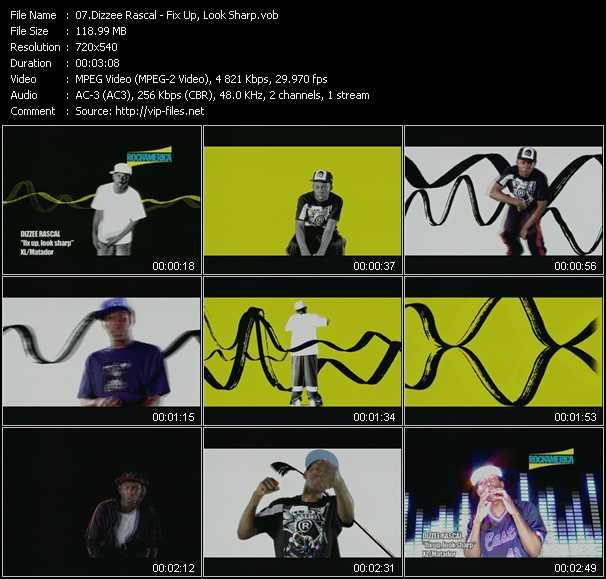 Dizzee Rascal video screenshot