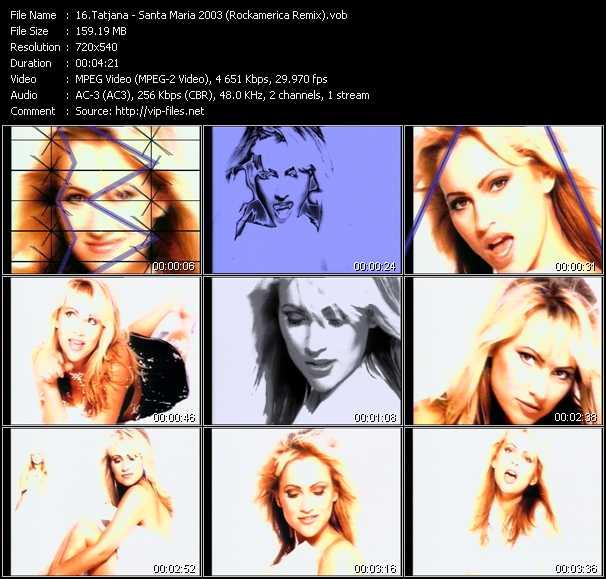 Tatjana video screenshot