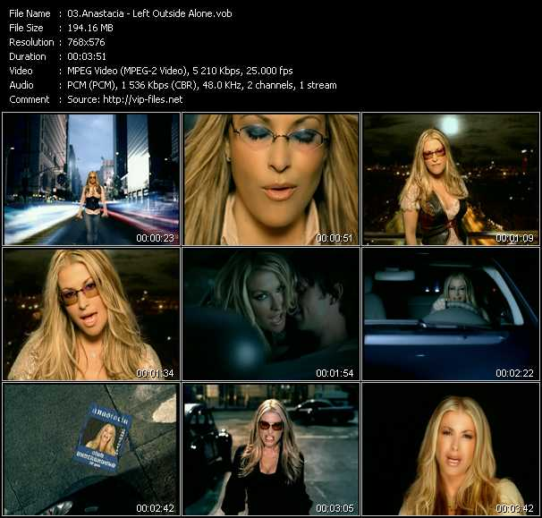 Anastacia video screenshot