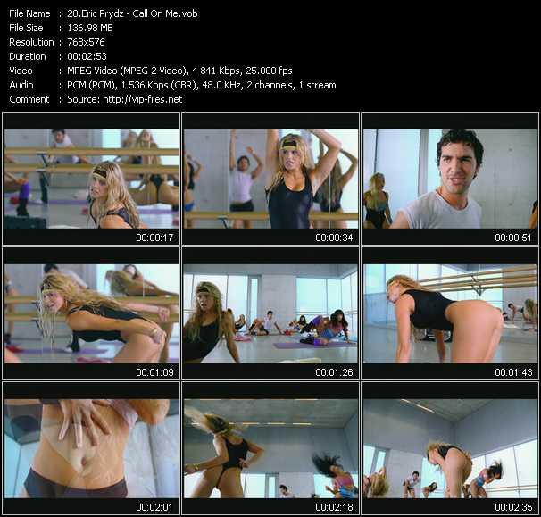Eric Prydz video screenshot