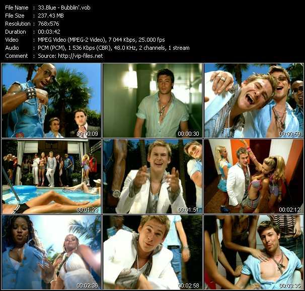 Blue video screenshot