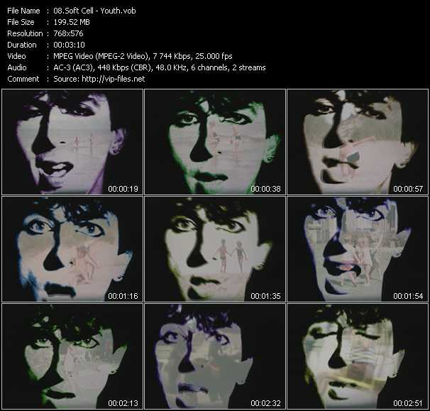 Soft Cell video screenshot