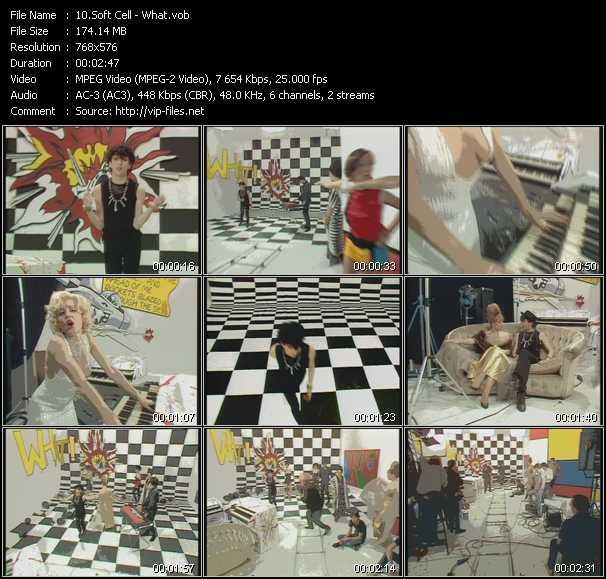 Soft Cell video screenshot