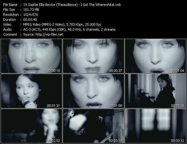 Sophie Ellis-Bextor (Theaudience) video screenshot