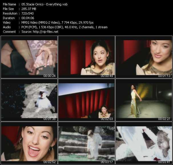 Stacie Orrico video screenshot