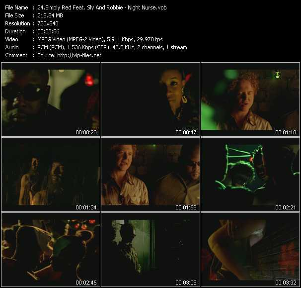 Simply Red Feat. Sly And Robbie video screenshot