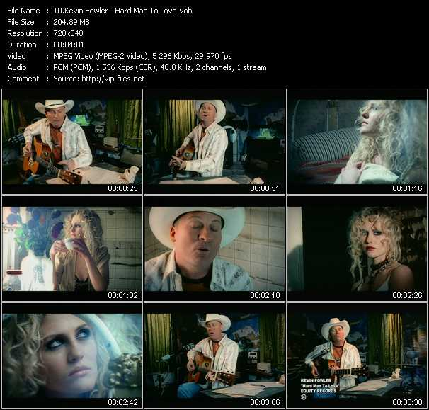 Kevin Fowler video screenshot
