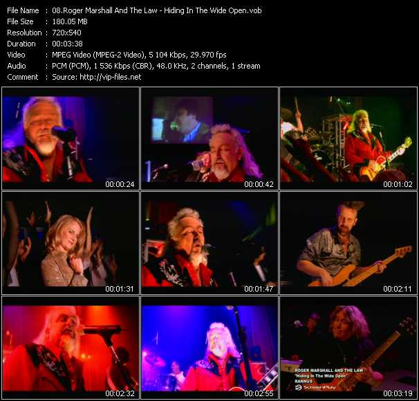 Roger Marshall And The Law video screenshot