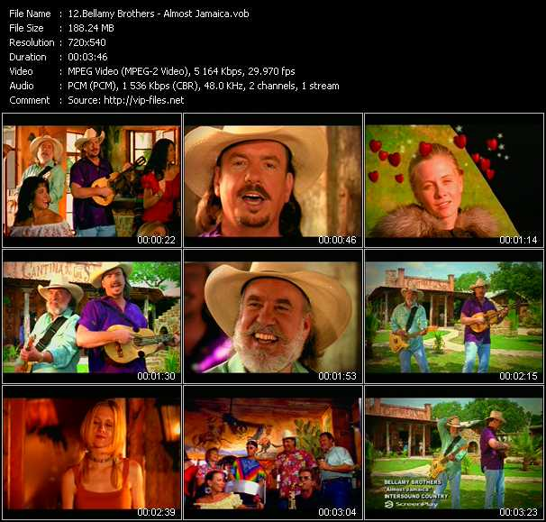 Bellamy Brothers video screenshot