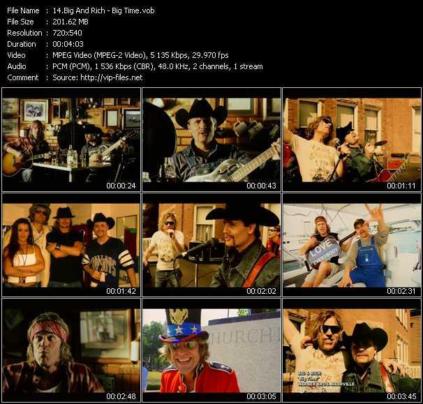 Big And Rich video screenshot