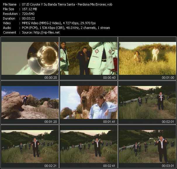 El Coyote Y Su Banda Tierra Santa video screenshot