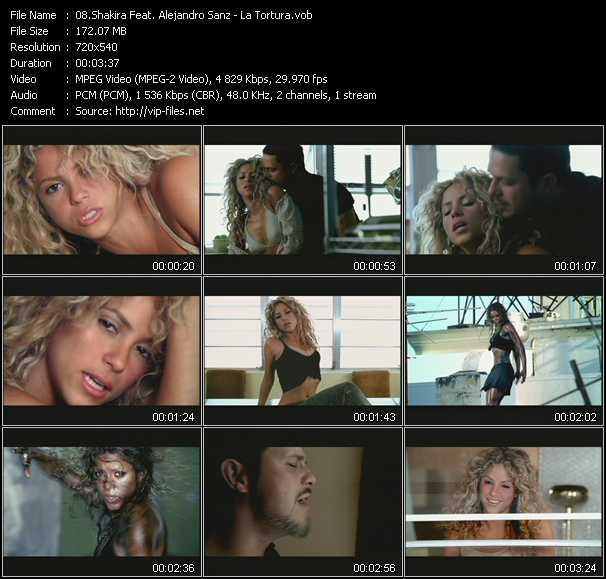 video La Tortura screen