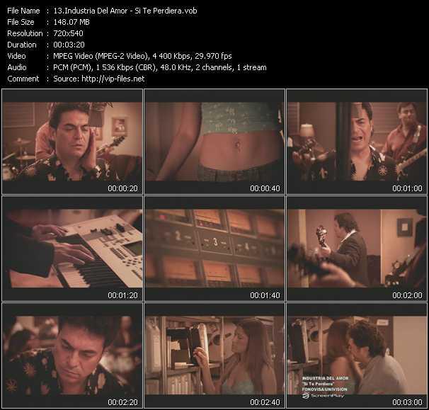 Industria Del Amor video screenshot