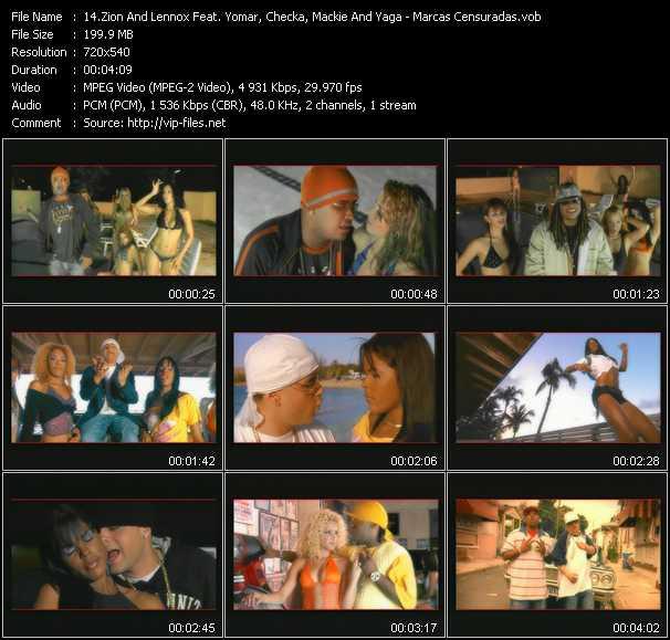 Zion And Lennox Feat. Yomar, Checka, Yaga And Mackie video screenshot