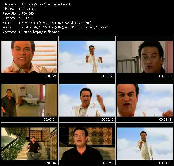 Tony Vega video screenshot