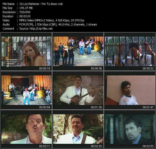 Los Rehenes video screenshot