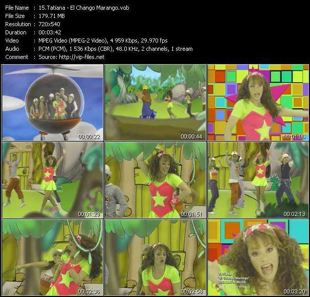 Tatiana video screenshot