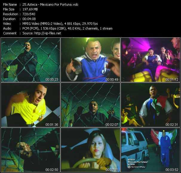 Azteca video screenshot
