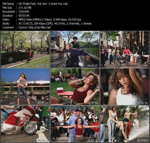 Thalia Feat. Fat Joe video screenshot