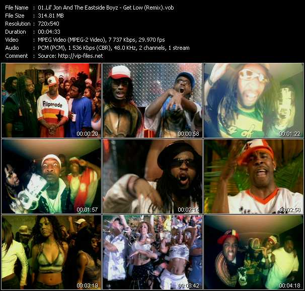 Lil' Jon And The East Side Boyz video screenshot