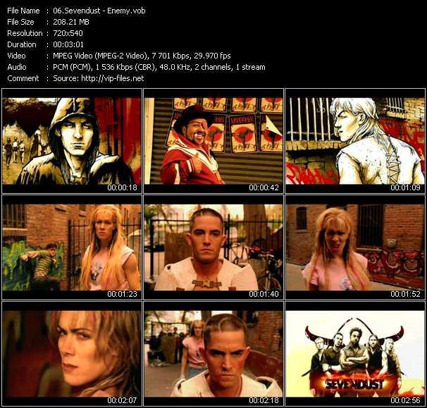 Sevendust video screenshot