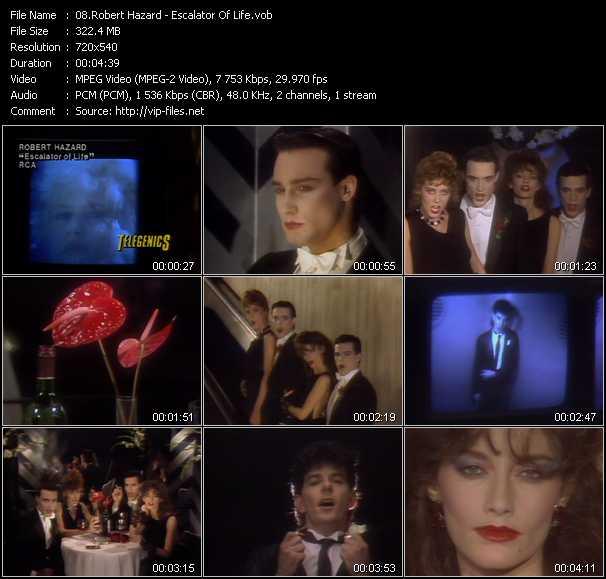 Robert Hazard video screenshot