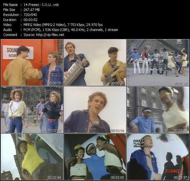Freeez video screenshot