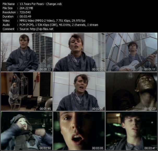 Tears For Fears video screenshot